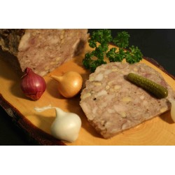 Countryside style Pâté with pine nuts